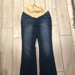 Indigo Blue maternity jeans size small